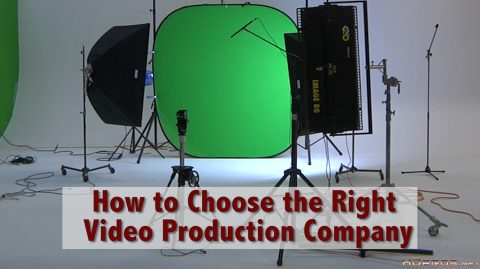 Cinematographer Jim Ross gives some of the more important aspects you should consider when choosing the right company to create a video for you.