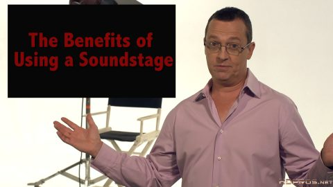 A soundstage might seem out of your production budget, or just out of your league. HD Pro Jim Ross will show you that is simply not the case.