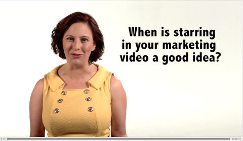 Clients often ask if they should star in their marketing video or hire actors. The answer is - It depends. And not just on whether you can act or not!